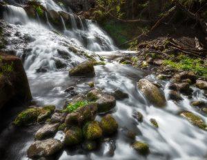 Vattenfall Röttle by utanför Gränna