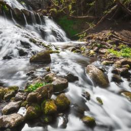 Vattenfall vid Röttle Gränna